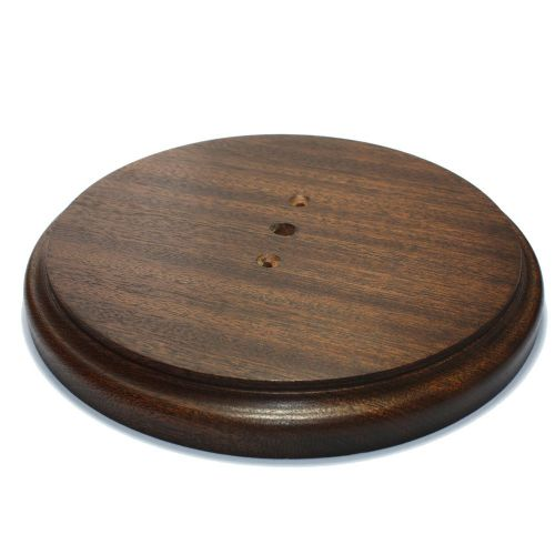 217mm Diameter Heavy Duty Sapele Pattress Waxed Finish